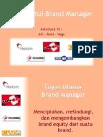 Presentation Brand Manager - Kartu As, Caxon & Holcim