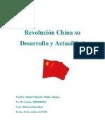 Revolución China y su Actualidad