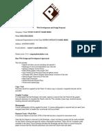 Website Contract
