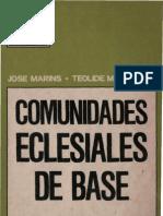 Comunidades Eclesiales de Base - José Marins