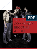 When Community Becomes a Cult