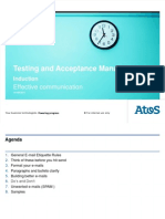 TAM Debut Induction Day 4 Session 1 Effective Communication