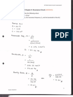 Tutorial Electric Circuit - Resonance Circuit