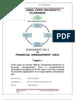 FM 2nd Assignment
