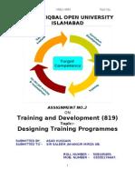 Training & Dev-819