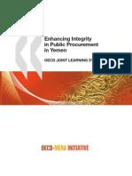 @OECD - Enhancing Public Procurement in Yemen