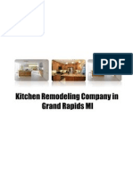 Kitchen Remodeling in Grand Rapids