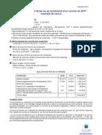 Remuneration Tache Ouvrier BTP Exemple