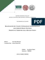 Realizzazione del Catasto centralizzato georeferenziato degli impianti radio-televisivi presenti sul territorio della regione Veneto