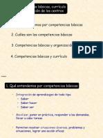 Plugin-competencias Curriculo y Organizacion