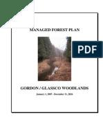 Woodland Management Plan-glassco