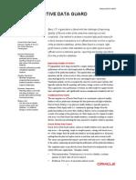 Active Data Guard 11g Datasheet
