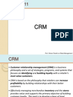 11 & 12 CRM & Planning Merchandise Assortments