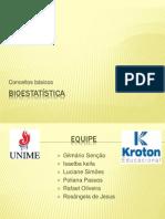 Apresntação Bioestatística