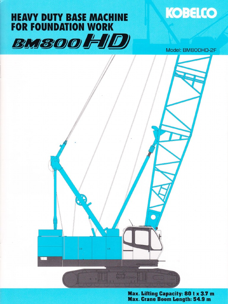 Kobelco Bm800hd 2f Crane Machine Brake Wiring Diagrams