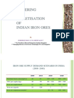 Sintering Pellet is Ing Indian Iron Ore