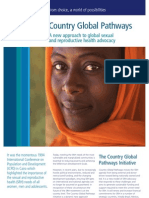 Advocacy to Action Country Global Pathways