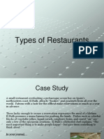 6-Types of Restaurants