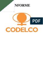 Informe codelco