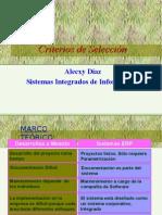 SII04 - Criterios Seleccion