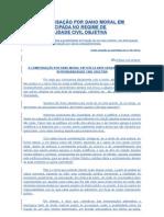 A COMPENSAÇÃO POR DANO MORAL EM TUTELA ANTECIPADA NO REGIME DE RESPONSABILIDADE CIVIL OBJETIVA