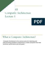 COMP 303 Lecture 1 (Ch 1)