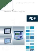 WEG Interfaces Homem Maquina 50030388 Catalogo Portugues Br