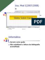 Slides Sob Re Excel