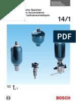 Hydro-pneumatic Accumulators 1 1