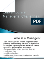 Contemporary Managerial Challenges-Ady Draft