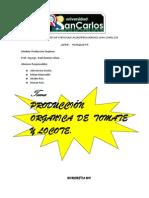 PRODUCCIÓN ORGANICA TOMATE Y LOCOTE