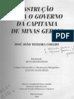 Instrução Para o Governo Da Capitania de Minas Gerais (1780; Pp