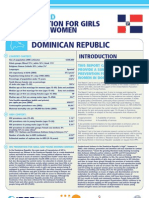Hiv Prevention Girls and Young Women Dominican Republic Report Card