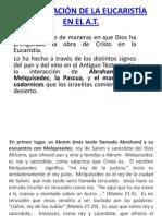 PREFIGURACIÓN DE LA EUCARISTÍA EN EL A- t