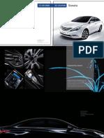 2011MY Sonata Catalog GEN LHD