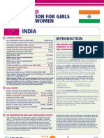 Hiv Prevention Girls and Young Women India Report Card