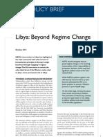 Libya Beyond Regime Change