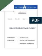 International Finance Assignment 1