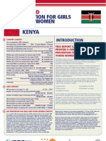 Hiv Prevention Girls and Young Women Kenya Report Card