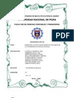 La Mision de La Facultad de Ciencias Contables de La Unp