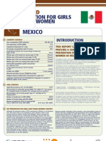 Hiv Prevention Girls and Young Women Mexico Report Card