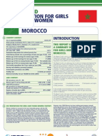 Hiv Prevention Girls and Young Women Morocco Report Card
