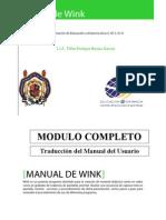 WINK MANUAL COMPLETO DEL USUARIO EN ESPAÑOL