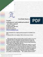 Reiki - 3rd Degree Master Manual