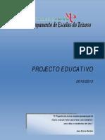 Projeto Educativo  2010-2013