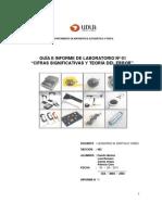 Informe de Lab Oratorio de Mecanica