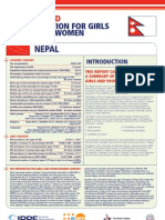 Hiv Prevention Girls and Young Women Nepal Report Card