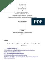 Elementos a Psychophysik.-02.-Galego.-gustav Theodor Fechner.
