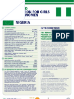 Hiv Prevention Girls and Young Women Nigeria Report Card