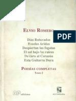 Poesías Completas - Tomo I - Elvio Romero - Paraguay - PortalGuarani